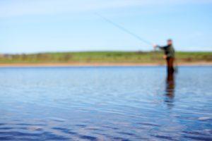 Fishing at Derwent Reservoir   Waterside Parks