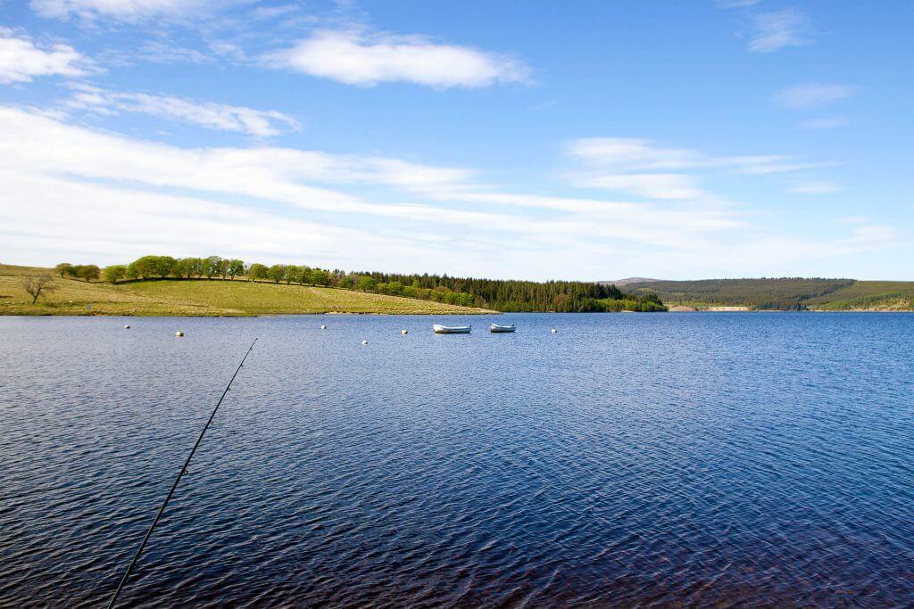 Fishing at Kielder | Waterside Parks