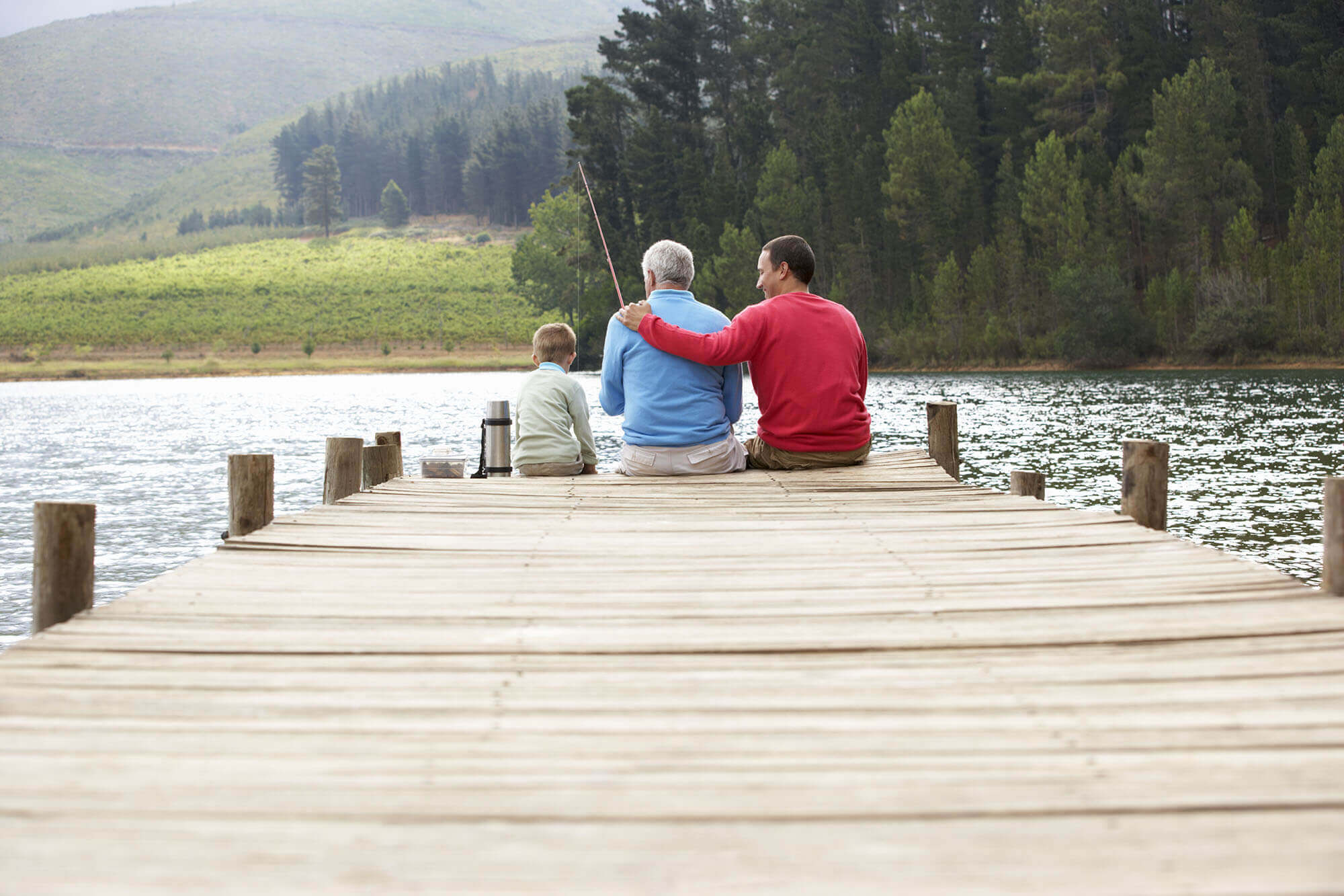 Balderhead Reservoir Waterside Parks